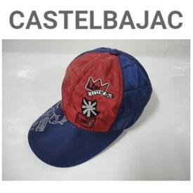 CASTELBAJAC カステルバジャック PE耳当て付中綿入り キャップ『レッド』【23204-140】