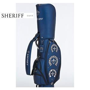 【送料無料】SHERIFF Acce SERIES シェリフ アクセシリーズ コンパクト キャディバッグ 『BLUE』【SAC-005】