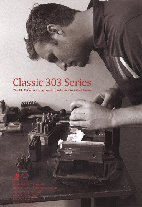 ピレッティリミニクラシック303シリーズパター2019追加モデル