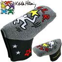 キースヘリング ゴルフ ピン型 パターカバー Star KHPC-05