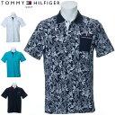 トミーヒルフィガー ゴルフ ウェア メンズ ボタニカル プリンテッド 半袖ポロシャツ THMA033 2020年春夏モデ…
