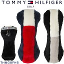 トミー ヒルフィガー ゴルフ フェアウェイウッド用 ストレッチボア ヘッドカバー THMG8FH6