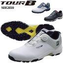ブリヂストンゴルフ TOUR B メンズ スパイクレス ゴルフシューズ ゼロ・スパイク バイター ライト SHG950