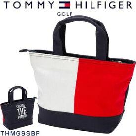 割引クーポン付!トミーヒルフィガー ゴルフ バッグ フラッグ ハンプ ミニトートバッグ THMG9SBF
