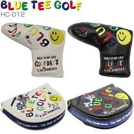 ブルーティーゴルフ スマイル&カート パターカバー HC-012