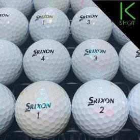 SRIXON Z-STAR 年式混合 20球 ホワイト ★★★【良品】【送料無料】 ゴルフボール ロストボール【中古】