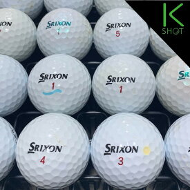 SRIXON Z-STAR XV 年式混合 20球 ホワイト ★★★【良品】【送料無料】ゴルフボール ロストボール【中古】