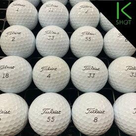 TITLEIST PROV1 2017年モデル 10球 ホワイト★★★★★【高品質】【送料無料】 ゴルフボール ロストボール【中古】