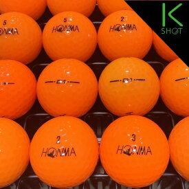 HONMA D1 年式混合 20球 オレンジ ★★★★★【高品質】【送料無料】ゴルフボール ロストボール【中古】