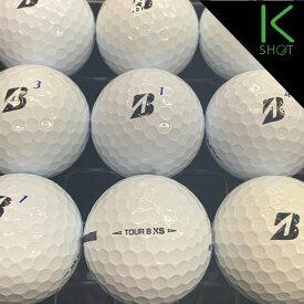 BRIDGESTONE TOURB XS 2020年モデル 10球 ホワイト★★★★★【高品質】【送料無料】  ゴルフボール ロストボール ブリジストン【中古】