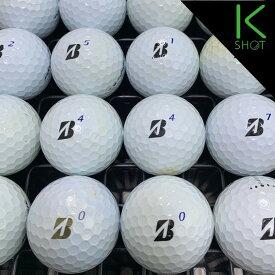 BRIDGESTONE TOURB XS 年式混合 20球 ホワイト ★★★【良品】【送料無料】 ゴルフボール ロストボール【中古】