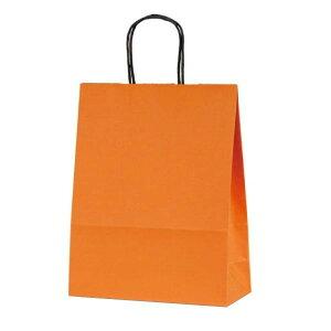 【代引き・同梱不可】【取り寄せ・同梱注文不可】 T-X 自動紐手提袋 紙袋 紙丸紐タイプ 260×110×330mm 200枚 カラー(オレンジ) 1594【thxgd_18】