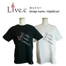 【あす楽対応】【期間限定送料無料】 2019年モデル LIVE.C Tシャツ カットソー VOL.2 メンズ レディース アパレル lc201901【GS7】