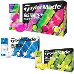 テーラーメイド DISTANCE+ SOFT ディスタンス プラス ソフト ゴルフボール 1ダース(12球)