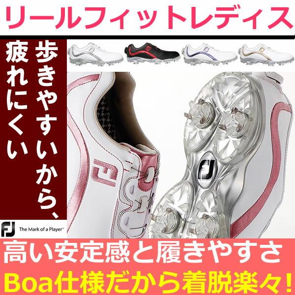 【あす楽】フットジョイ FJ リールフィット レディースシューズ 【footjoy】【ReelFit】【GS7】【ASU】