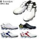 フットジョイ XPS-1 BOA メンズ ゴルフシューズ [エックスピーエスワン ボア XPS1BOA] [FootJoy][☆]【ASU】