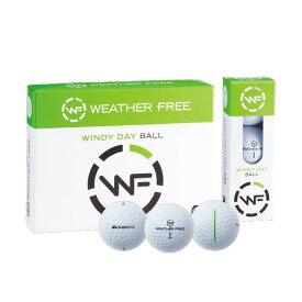 (あす楽対応)キャスコ Kasco ゴルフボール WEATHER FREE 風用ボール 38667 1ダース 12個入り ウェザーフリー ユニセックス 2020年【ASU】
