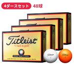 【4ダースセット】タイトリスト HVC ソフトフィール  [SOFT FEEL] 【Titleist】【ゴルフボール】【日本正規品】