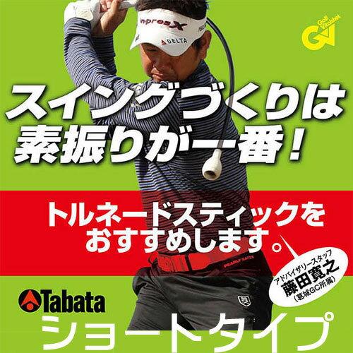 タバタ トルネードスティック ショート スイング練習機【GV-0232】【GV0232】