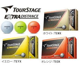 【3ダースセット】ブリヂストン ツアーステージ エクストラ ディスタンス TourSTAGE EXTRA DISTANCE ボール(12球入×3)