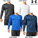 Under Armour アンダーアーマー UA HEATGEAR ARMOUR FITTED LS V-NECK NOVELTY ヒートギアアーマー フィッテ...
