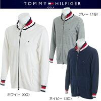 トミーヒルフィガーゴルフオープンワークジップアップニットセーター【THMA804】2017春夏モデル