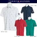 トミーヒルフィガー ゴルフ ノーチカル フラッグ 半袖ポロシャツ【THMA845】2018春夏モデル