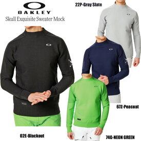 (セール)オークリー ゴルフ スカル エクスクイジット セーター モックネックシャツ(461792JP)2019秋冬
