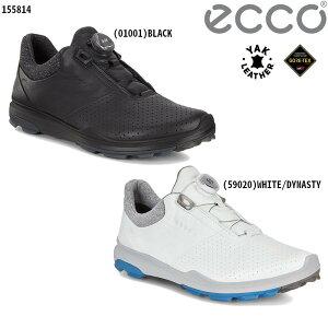 (セール)ECCO エコー バイオム ハイブリッド 3 BOA メンズ ゴルフシューズ (155814)