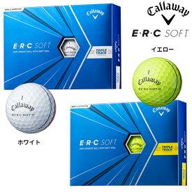 (日本正規品)キャロウェイ ERC SOFT ソフト トリプルトラック ゴルフボール 1ダース(12球)2021