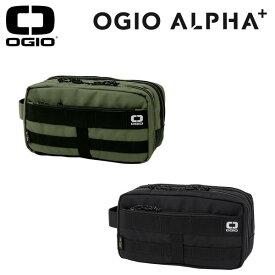 【2019年春夏モデル】オジオ OGIO ポーチALPHA Pouch 19 JMアルファオリーブ ブラック