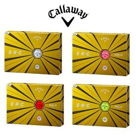 【6月限定!ご購入のお客様全員にマスクプレゼント】Callaway E・R・Cキャロウェイ E・R・C ボールERC ボールドカラー マット1ダース 12個入り