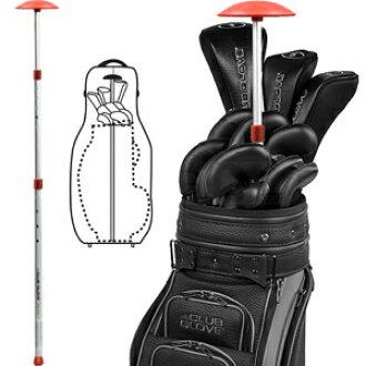 高尔夫球袋僵硬的手臂