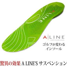 【全米トッププロ使用】 ALINE ゴルフシューズ インソール 男女兼用 ALINE629 【200円ゆうパケット対応商品】【ゴルフ】