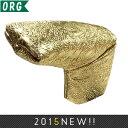 オリジナル ゴールドドラゴン PUレザー ブレード パターカバー 193 【200円ゆうメール配送可能】【ゴルフ】