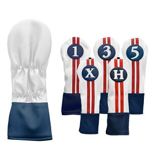 単品★SaharaRetroレトロオールドスクールヘッドカバー(#1・#3・#5・X・H)US正規品【全5色】HI50404A【ゴルフ】