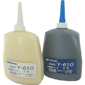 【国内正規品】 セメダイン 低臭気2液アクリル接着剤 (業務お得用) Y-610 【ゴルフ】