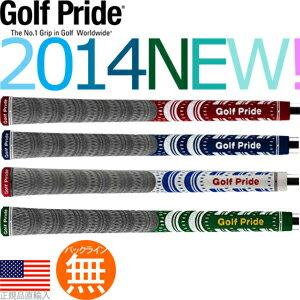 ゴルフプライド Golf Pride マルチコンパウンド MCC プラチナム ウッド&アイアン用グリップ(バックライン無) 【全4色】 MCCP 【200円ゆうメール対応商品】【ゴルフ】