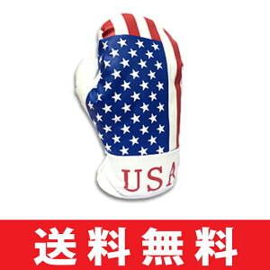 【ゆうパケット配送無料】 オリジナル USA ボクシンググローブ ドライバー用ヘッドカバー 129