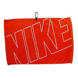 """【特価品】カラビナ付 ナイキ ジャガード タオル オレンジ 約40×61cm (Nike Golf 16"""" X 24"""" Jacquard Towel) N88511 【200円ゆうパケット対応商品】【ゴルフ】"""