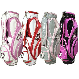 Hello Kitty favor HELLO KITTY golf bag all 4 color HKCB.