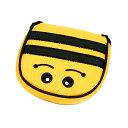 インテック バンブルビー マレット パターカバー 右打用(Intech Bumble Bee Putter Headcover) HX323 【ゴルフ】