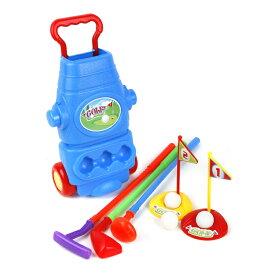 ジュニア 初心者用 クラブ 【右打用/3歳以上用】 (Ojam Swing 'N Play 9 Piece Kid's Toy Golf Set) LHJGS-005 【コンペ 景品 賞品 ゴルフ】