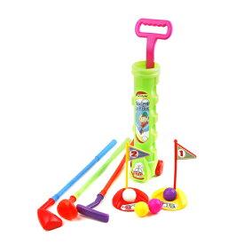 ジュニア 初心者用 クラブ 【右打用/3歳以上用】 (Ojam Swing 'N Play 12 Piece Kid's Toy Golf Set) LHJGS 【コンペ 景品 賞品 ゴルフ】