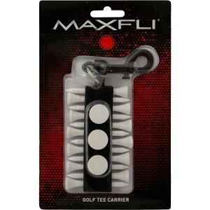 【ゆうパケット配送無料】 マックスフライ ラウンドツールホルダー (ゴルフティー12本/ボールマーカー3個)(Maxfli Golf Tee Carrier) MX209 【ゴルフ】