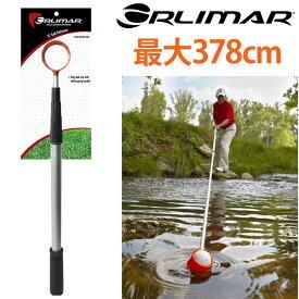 オリマー 蛍光ヘッド ボールレトリバー 最大378cm(Orlimar Fluorescent Head Golf Ball Retriever) OR07237 【ゴルフ】