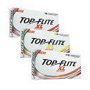 【アメリカ売上NO.1ブランド】 トップフライト XL ディスタンス (Top Flite XL DISTANCE) ゴルフボール (18個入) …