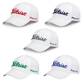 【特価品】【カラー追加】タイトリスト ツアーエリート キャップ(全5色)(Titleist Tour Elite Fitted Cap) TH8FDMW 【ゴルフ】
