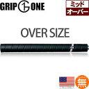 """グリップワン Grip One G1 デザイン ノンテーパー ウッド&アイアン用グリップ (3/64"""" オーバーサイズ) GPGO015 【2…"""