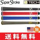 【ゆうメール配送10本セット】 スーパーストローク SUPER STROKE S-Tech ウッド&アイアン用グリップ ST0064 【ゴルフ】